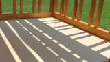 木製ベビーベッド2